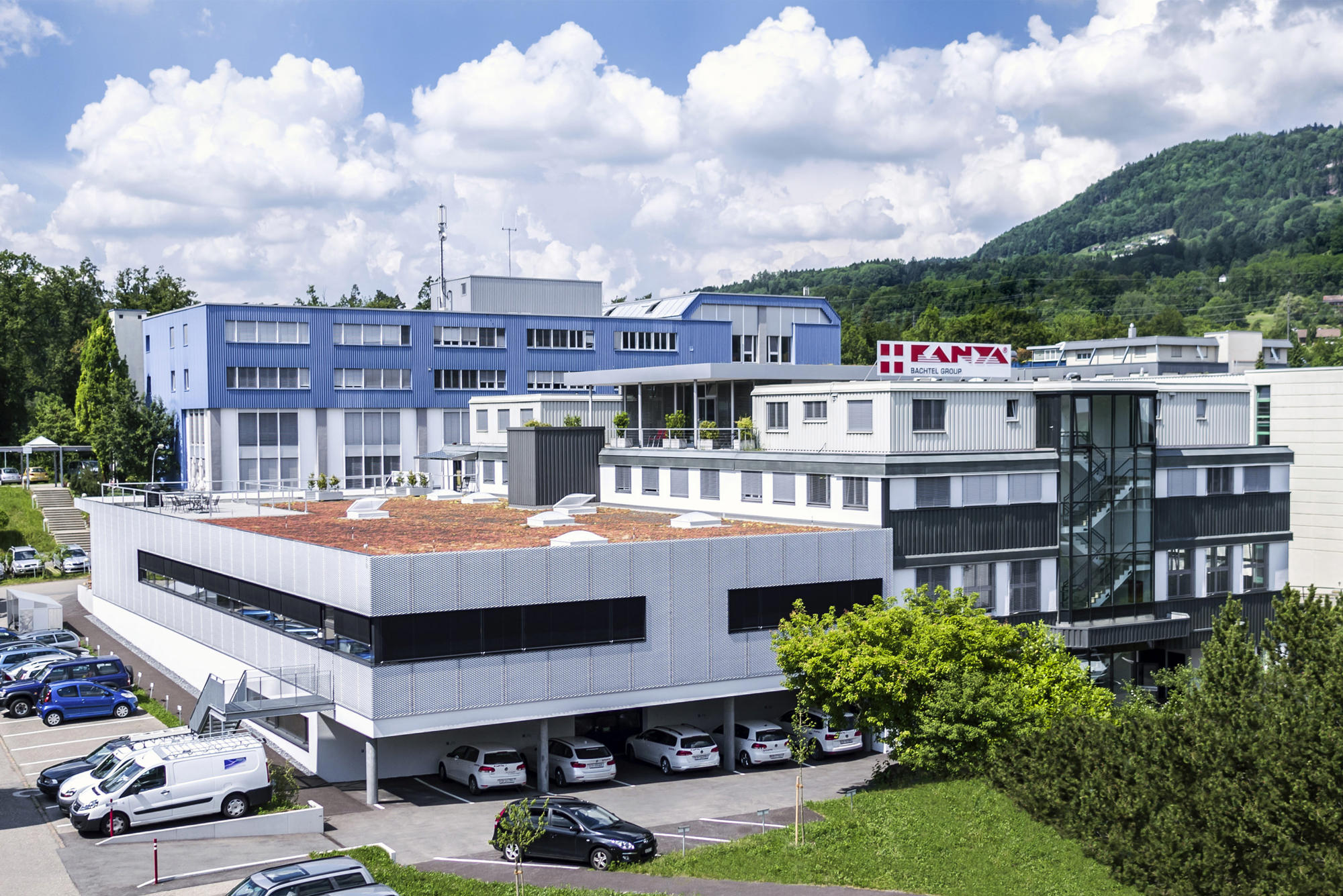 Bachtel Group - Kanya AG Firmengebäude
