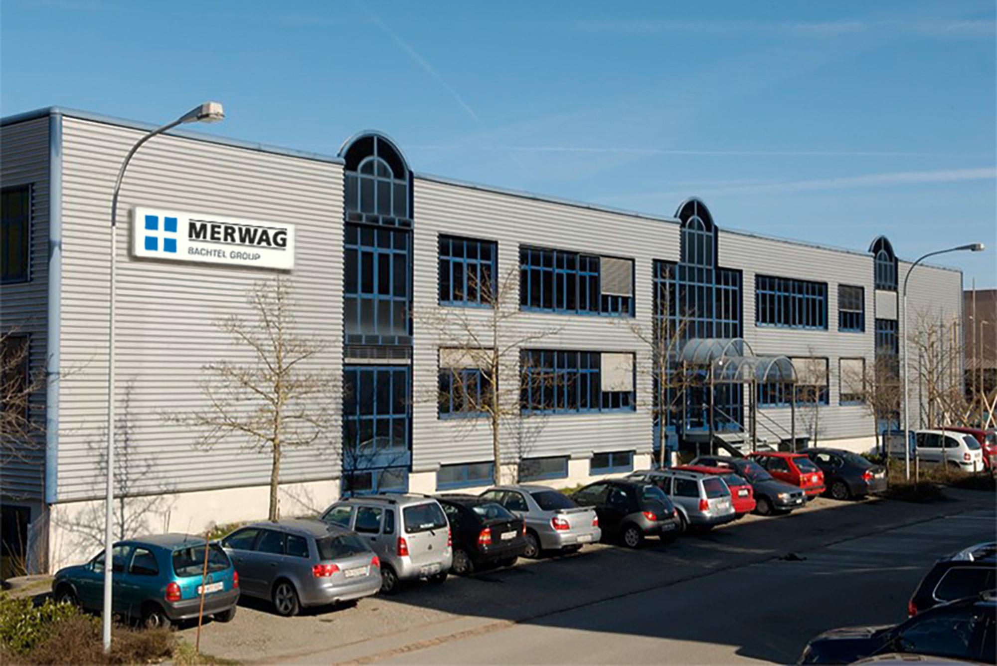 Firmengebäude-Merwag